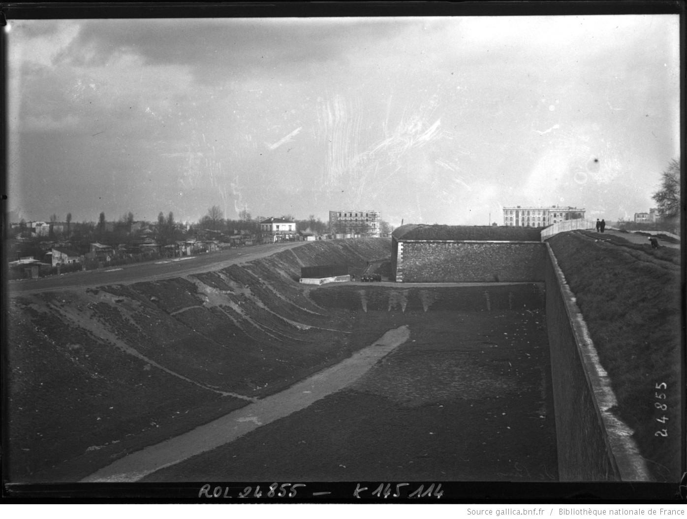 Les Fortifications de Paris 1913