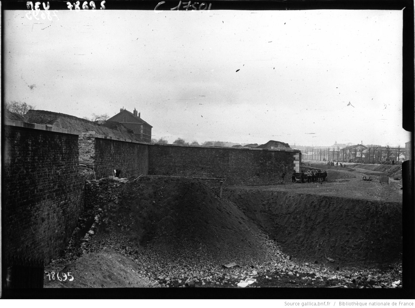 Les_fortifications Porte de Champerret