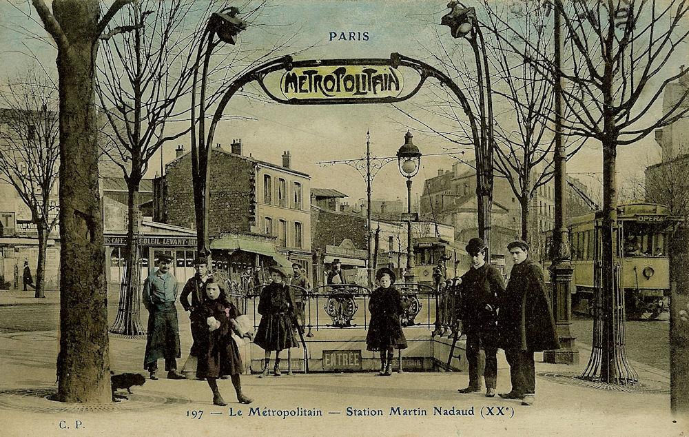 Station Martin Nadaud