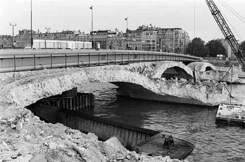 Destruction du Pont