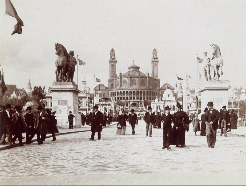Le Palais durant l'Exposition Universelle de 1900
