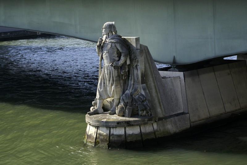 Le zouave du Pont de l'Alma - (© Pierre Emmanuel Malisin)