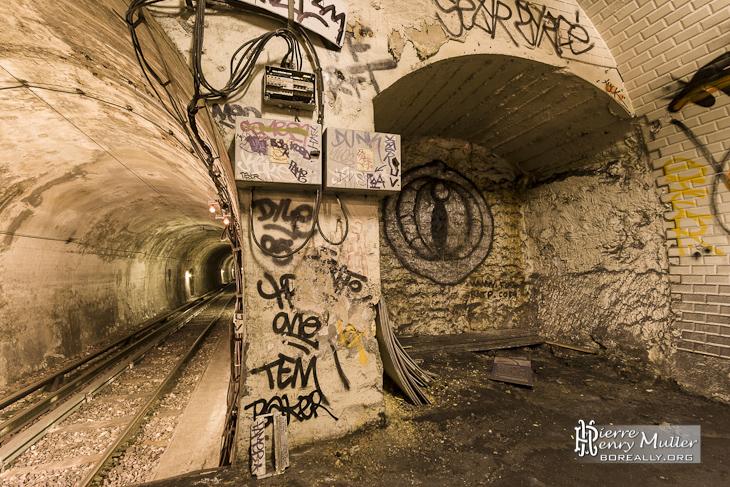 Station Haxo - les accès extérieurs restent en suspens... ©Pierre Henri Muller