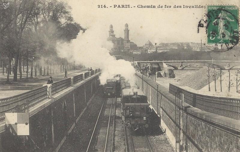 Chemin de fer des Invalides