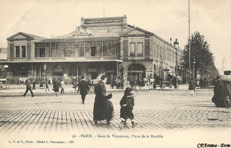 Gare de la Bastille