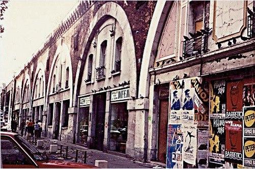 Gare de la Bastille peu de temps avant sa démolition