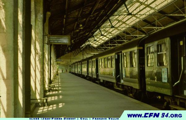 Gare de la Bastille 1969