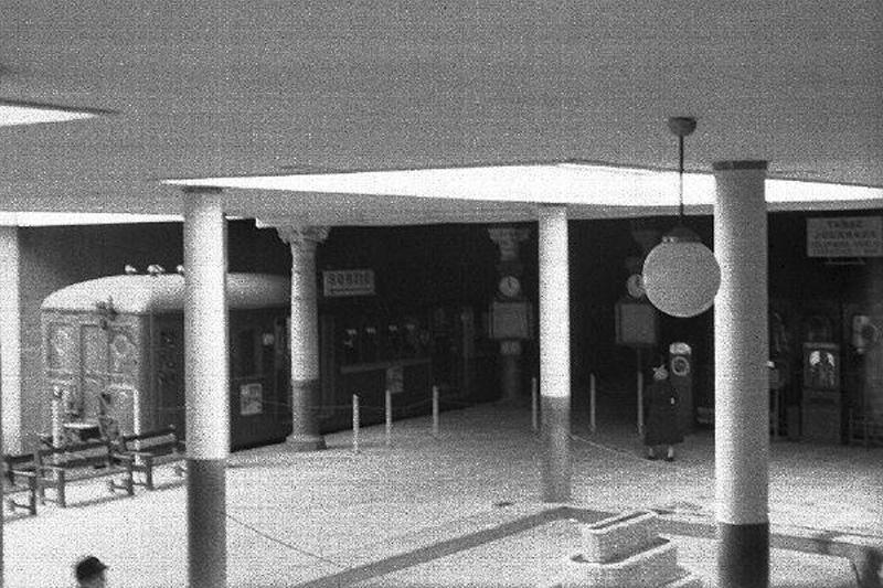 Intérieur de la Gare dans les années 30