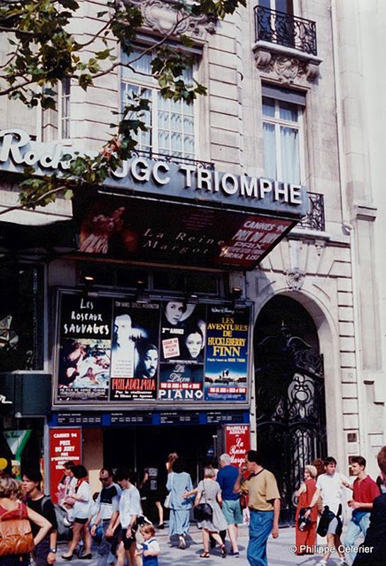 UGC Triomphe - http://sallesdecinemas.blogspot.fr/