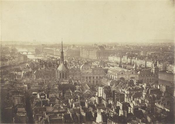 Île de la Cité 1855