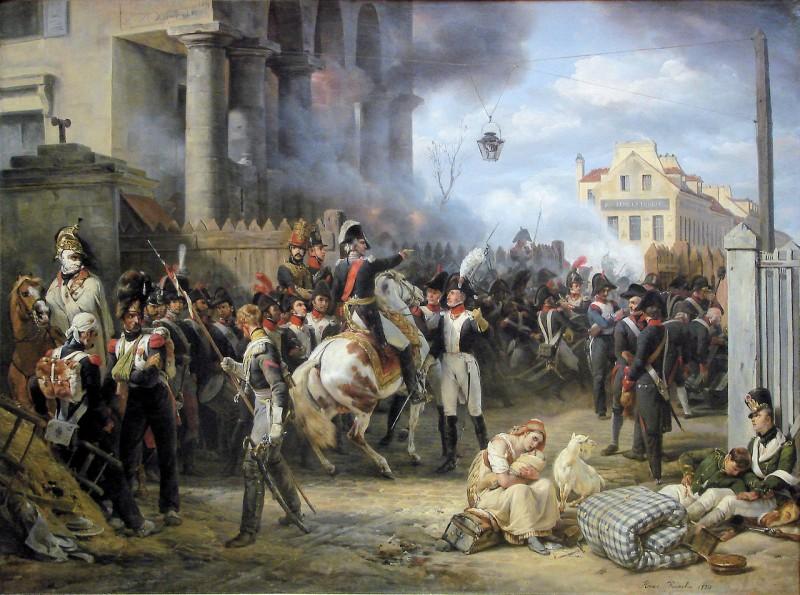 Horace Vernet - La bataille de la Place de Clichy