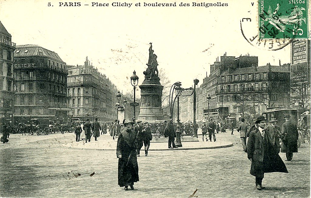 1814 la bataille de la place de clichy paris unplugged for Place de clichy castorama
