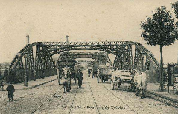 Le viaduc de Tolbiac