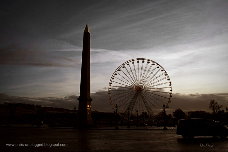 Obélisque de la Place de la Concorde (Nicolas Bonnell /De.Phoebus 2007)