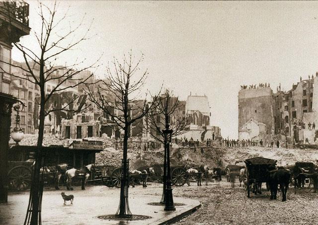Percement de l'Avenue de l'Opéra 5 - 1877