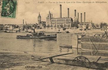 1899 – L'usine RATP du quai de Bercy