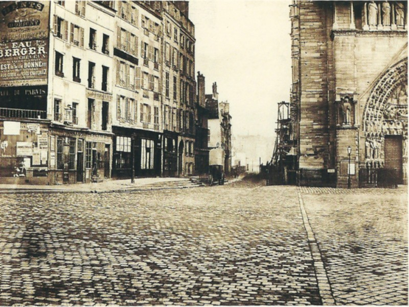 Marville - Île de la Cité 1860