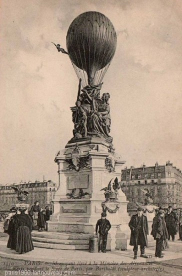 1900 – Le ballon de la porte des Ternes