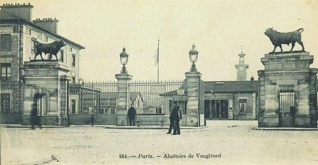 Abattoirs de Vaugirard 1910