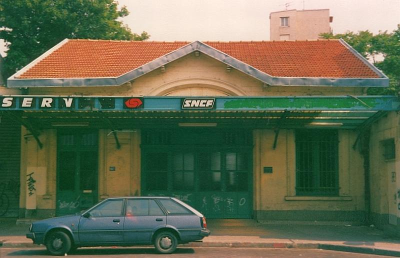 La Gare de Charonne dans les années 80 ©Bruno Bretelle