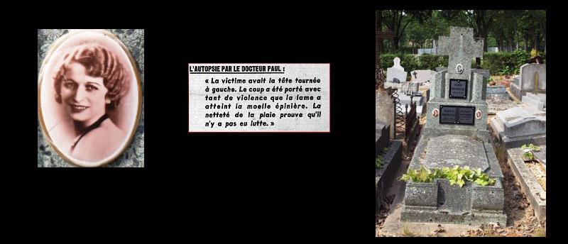 Tombe de Laetitia à Thiais