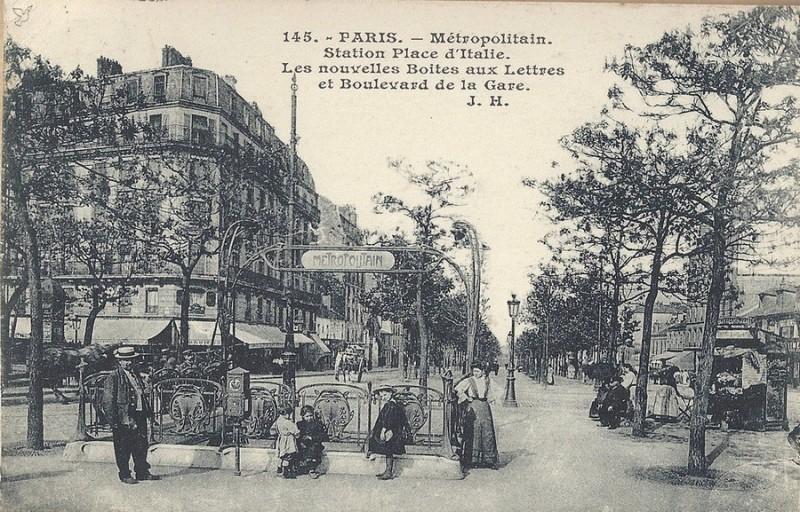 1860 de la porte la place d 39 italie paris unplugged - Porte d italie metro ...