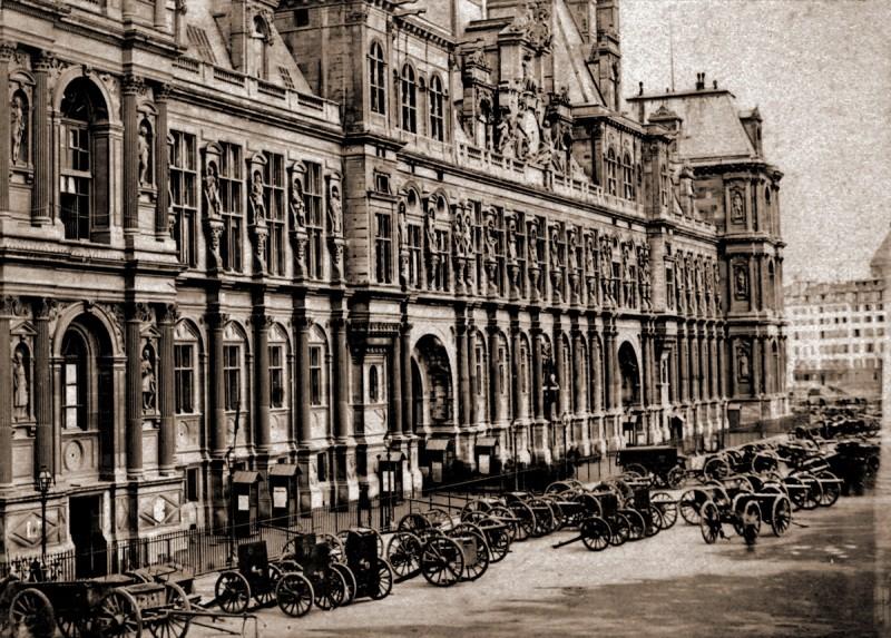 Hôtel de Ville avant l'incendie
