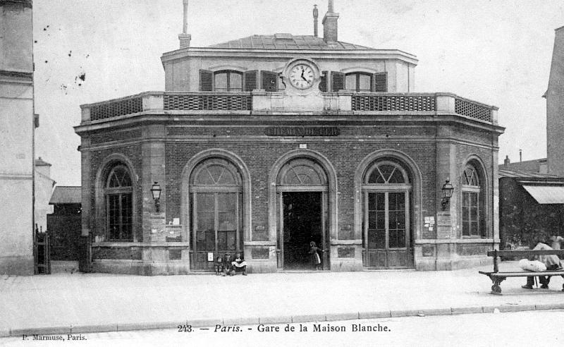 Gare de Maison Blanche
