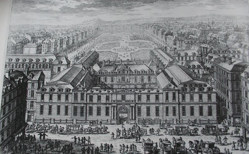 1780 Le Palais Royal Paris Unplugged