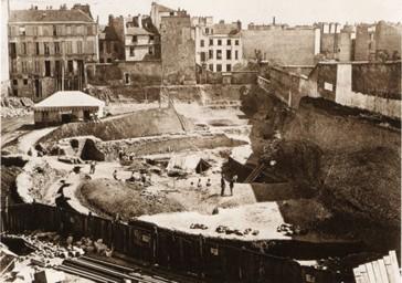 1869 – La découverte des Arènes de Lutèce