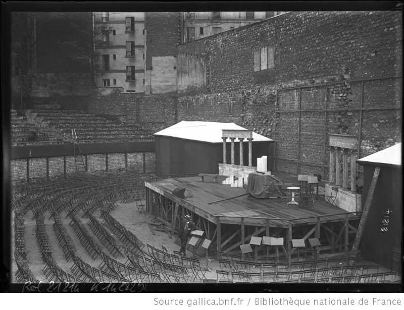 Arènes de Lutèce 1910