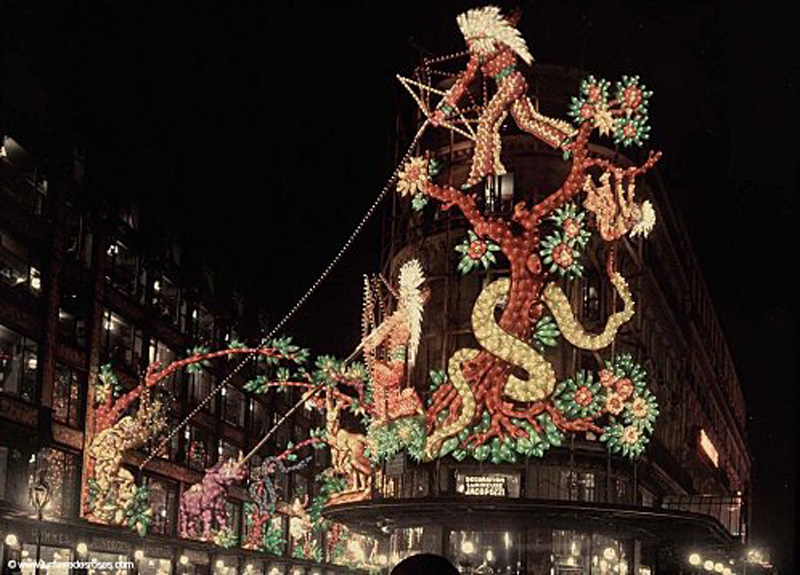 Leon gimpel illumination noel paris magasin 03 paris unplugged - Illumination noel paris ...