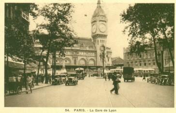1855 – La Gare de Lyon