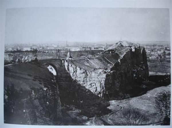 Vers 1865 - Durant les travaux