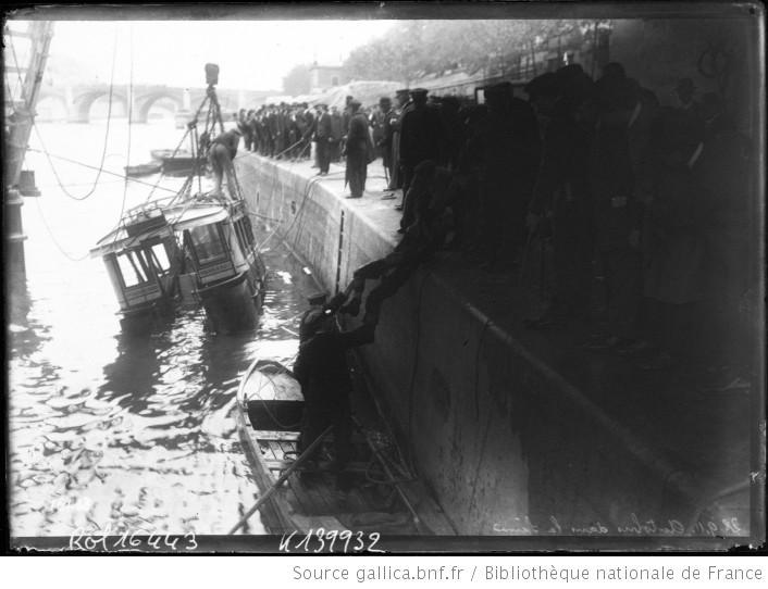 1911 - Accident de bus