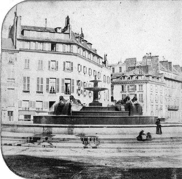 Fontaine aux Lions (1860)