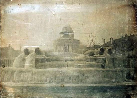 Fontaine gelée (1842)