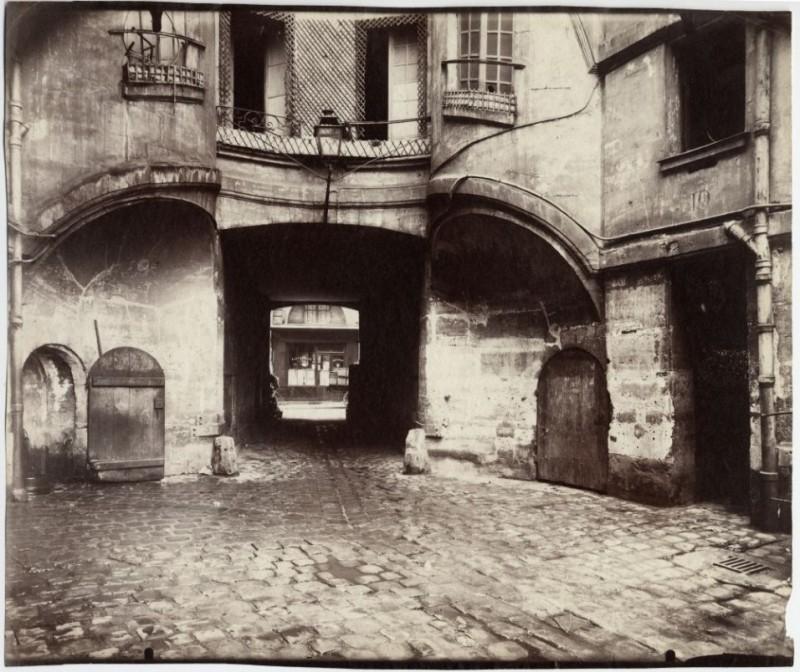 Cour du Dragon 1914