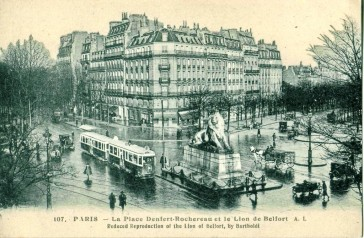1879 – Le Lion de Denfert Rochereau