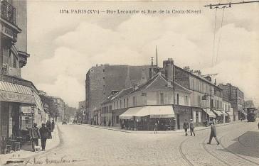 1900 – La Rue Lecourbe