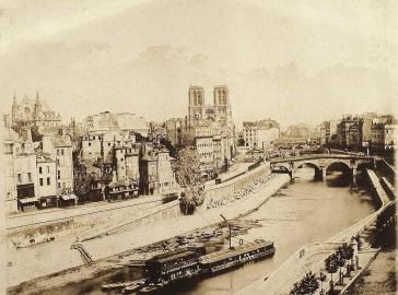 1840 – Notre Dame avant restauration