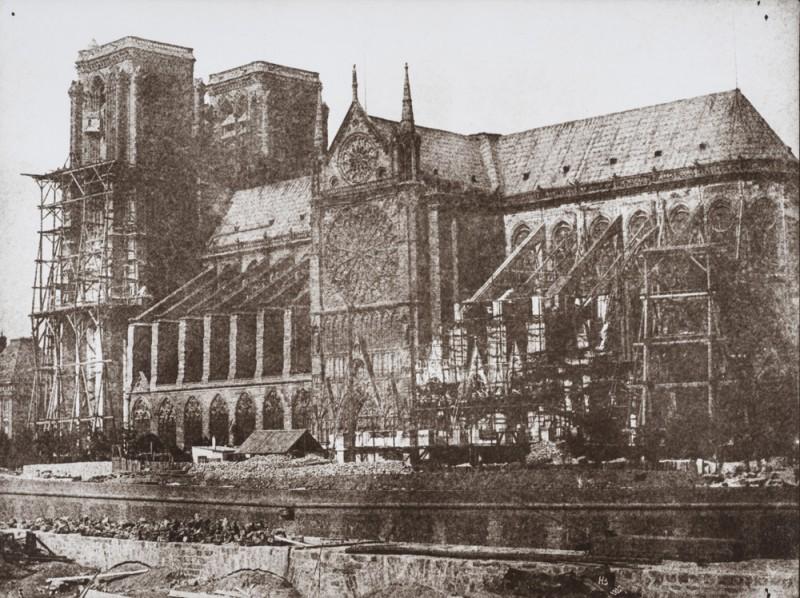 Notre Dame 1847 Durant la restauration