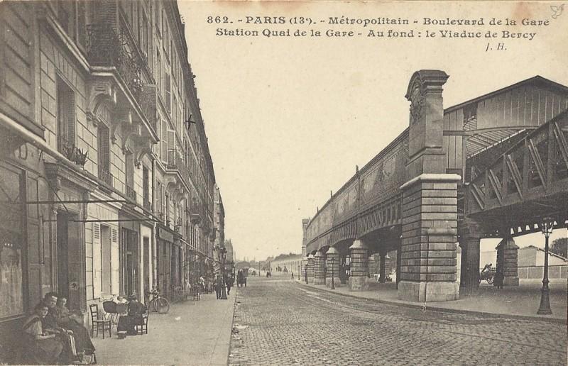 Vers le viaduc de Bercy