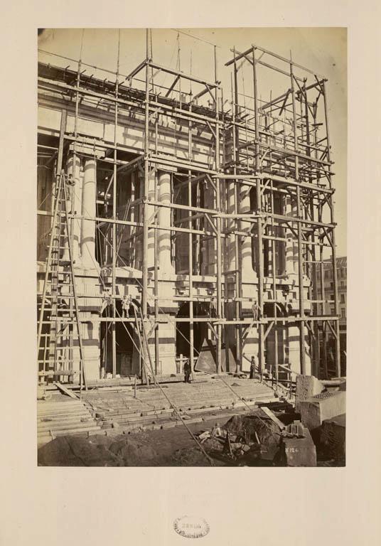 Construction Opéra Garnier 10