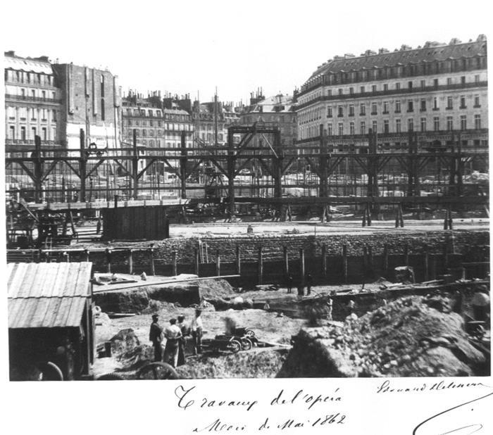 Construction Opéra Garnier 12