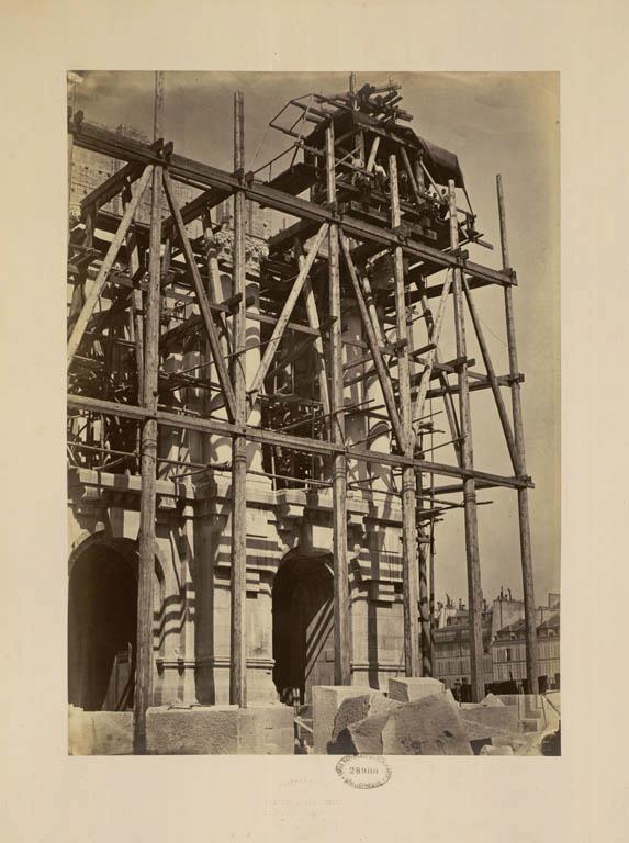 Construction Opéra Garnier 13