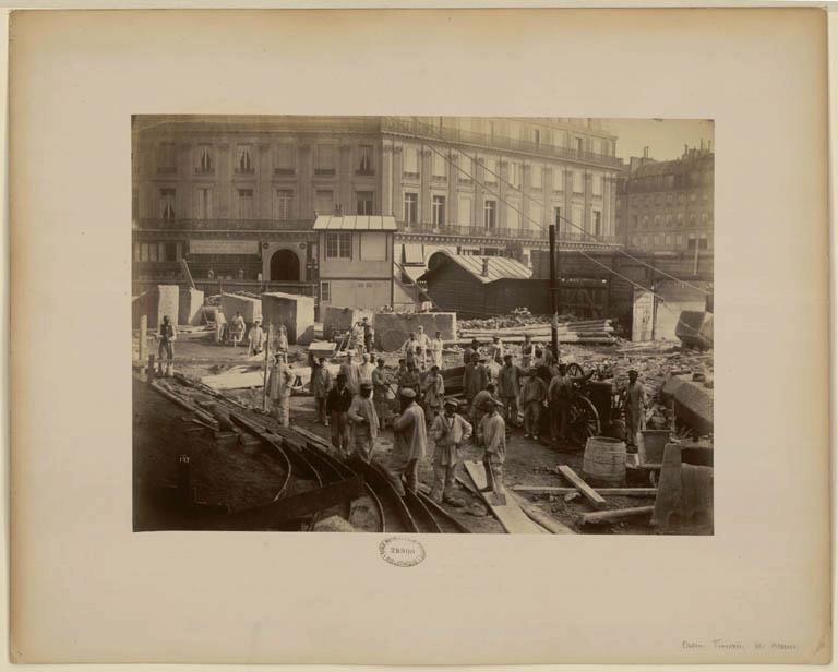 Construction Opéra Garnier 14