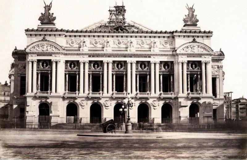 Construction Opéra Garnier 15