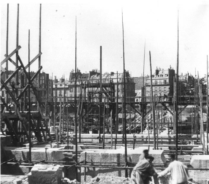 Construction Opéra Garnier 16