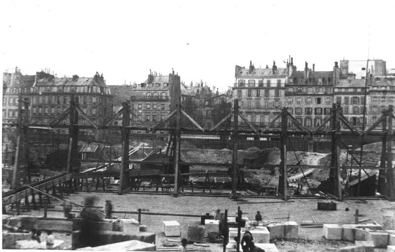 Construction Opéra Garnier 17